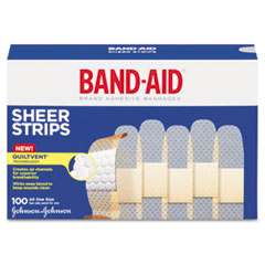 BAND-AID® Sheer Adhesive Bandages Thumbnail