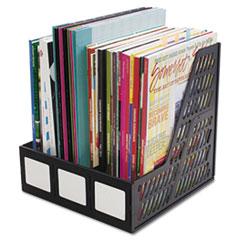 Literature File, Three Slots, Black