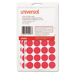 Universal® Self-Adhesive Removable Color-Coding Labels Thumbnail