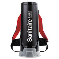 Sanitaire® TRANSPORT QuietClean HEPA Backpack Vacuum SC535A, 10 qt Tank Capacity, Black