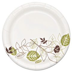 "Pathways Soak Proof ShieldHeavyweight Paper Plates, 5 7/8"", 500/Carton"
