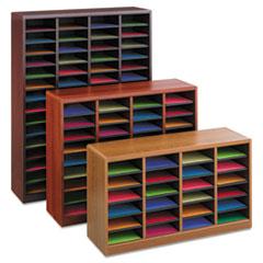 Safco® E-Z Stor® Wood Literature Organizers Thumbnail