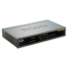 8-Port Fast Ethernet Desktop Switch, 4 PoE Ports, Unmanaged