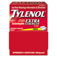 Tylenol® Extra Strength Caplets—Two Pack Thumbnail