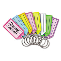 SteelMaster® Replacement Tags for Multi-Color Key Rack