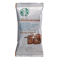 Starbucks® Coffee, Pike Place Decaf, 2 1/2 oz Packet, 18/Box