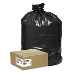 "Handi-Bag® Super Value Pack Contractor Bags, 42 gal, 2.5 mil, 33"" x 48"", Black, 50/Carton"