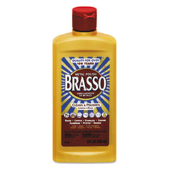 BRASSO® Metal Surface Polish, 8 oz Bottle
