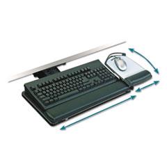 3M™ Lever-Adjust Keyboard Tray with Highly Adjustable Platform
