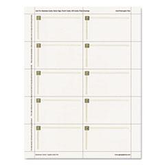 Geographics® Capital Gold Foil Design Premium Business Cards Thumbnail