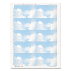 Geographics® Clouds Design Business Suite Business Cards Thumbnail