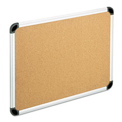 Universal® Deluxe Cork Board with Aluminum Frame Thumbnail