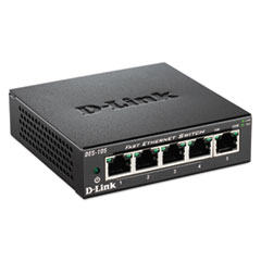 5-Port Fast Ethernet Switch, Unmanaged