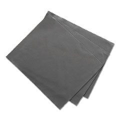 "Innovera® Microfiber Cleaning Cloths, 6"" x 7"", Grey, 3/Pack"