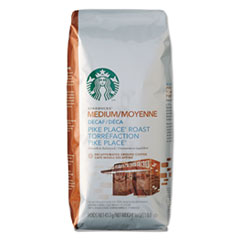 Starbucks® Coffee, Ground, Pike Place Decaf, 1lb Bag