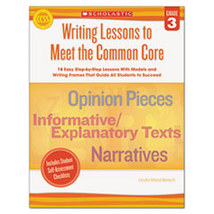 Scholastic Writing Lessons To Meet the Common Core Thumbnail