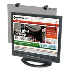"""Protective Antiglare LCD Monitor Filter, Fits 15"""" LCD Monitors"""