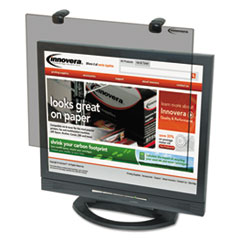 """Protective Antiglare LCD Monitor Filter, Fits 19""""-20"""" Widescreen LCD, 16:10"""