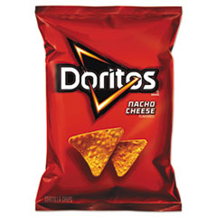 Doritos® Nacho Cheese Tortilla Chips, 1.75 oz Bag, 64/Carton