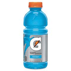 Gatorade® G-Series Perform 02 Thirst Quencher, Cool Blue, 20 oz Bottle, 24/Carton