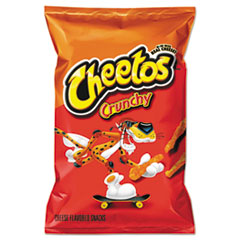 Cheetos® Crunchy Cheese Flavored Snacks, 2 oz Bag, 64/Carton
