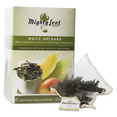 Mighty Leaf® Tea Whole Leaf Tea Pouches, White Orchard, 15/Box MYT40018