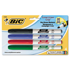 BIC® Great Erase® Grip Fine Point Dry Erase Marker Thumbnail