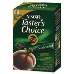 Nescafé® Taster's Choice Stick Pack, Decaf, .06oz, 80/Box