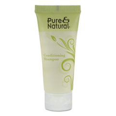 Pure & Natural™ Conditioning Shampoo, Fresh Scent, 0.75 oz, 288/Carton