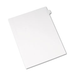 Avery® Allstate-Style Legal Exhibit Side Tab Divider, Title: C, Letter, White, 25/Pack