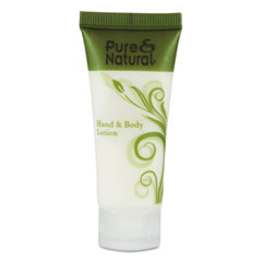Pure & Natural™ Hand and Body Lotion, 0.75 oz, 288/Carton