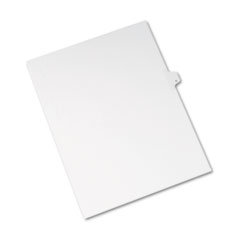 Avery® Allstate-Style Legal Exhibit Side Tab Divider, Title: K, Letter, White, 25/Pack