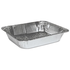 Boardwalk® Half Size Aluminum Steam Table Pan, Deep, 100/Carton