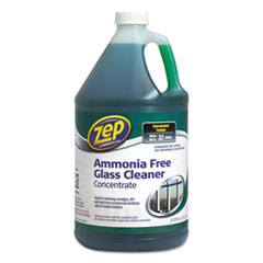 Zep Commercial® Ammonia-Free Glass Cleaner, Agradable Scent, 1 gal Bottle