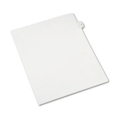 Avery® Allstate-Style Legal Exhibit Side Tab Divider, Title: 5, Letter, White, 25/Pack