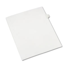 Avery® Allstate-Style Legal Exhibit Side Tab Divider, Title: 7, Letter, White, 25/Pack