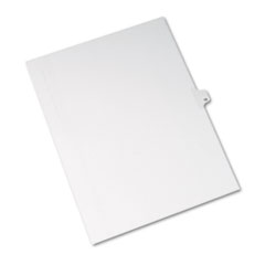 Avery® Allstate-Style Legal Exhibit Side Tab Divider, Title: 13, Letter, White, 25/Pack