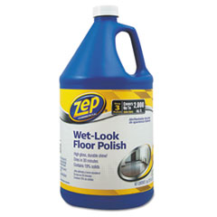 Zep Commercial® Wet Look Floor Polish, 1 gal Bottle