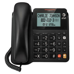 AT&T® CL2940 Corded Speakerphone with Large Tilt Display