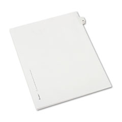 Avery® Allstate-Style Legal Exhibit Side Tab Divider, Title: 23, Letter, White, 25/Pack