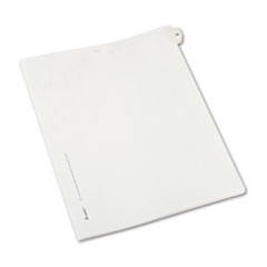 Avery® Allstate-Style Legal Exhibit Side Tab Divider, Title: 25, Letter, White, 25/Pack