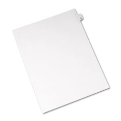 Avery® Allstate-Style Legal Exhibit Side Tab Divider, Title: 28, Letter, White, 25/Pack