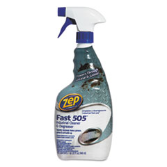 Zep Commercial® Fast 505 Cleaner & Degreaser, Lemon Scent, 32 oz Spray Bottle