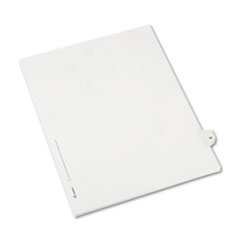 Avery® Allstate-Style Legal Exhibit Side Tab Divider, Title: 30, Letter, White, 25/Pack