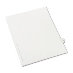 Avery® Allstate-Style Legal Exhibit Side Tab Divider, Title: 31, Letter, White, 25/Pack