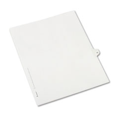 Avery® Allstate-Style Legal Exhibit Side Tab Divider, Title: 35, Letter, White, 25/Pack