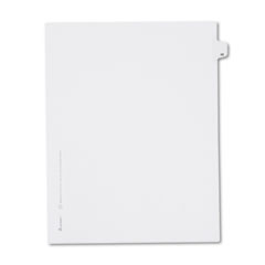 Avery® Allstate-Style Legal Exhibit Side Tab Divider, Title: 48, Letter, White, 25/Pack