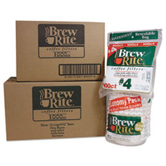 Brew Rite® Coffee Filters