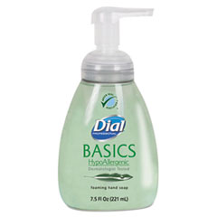 Dial® Professional Basics Foaming Hand Soap, 7.5oz, Honeysuckle, 8/Carton