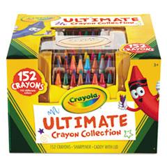 Crayola® Ultimate Crayon Case, Sharpener Caddy, 152 Colors